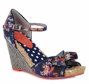 Ruby Shoo Molly Floral Shoes